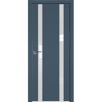Дверь Профиль дорс 9Е Антрацит - со стеклом (Товар № ZF209531)