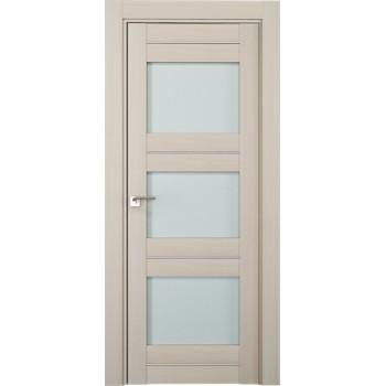Дверь Профиль дорс 41Х Эш вайт мелинга - со стеклом (Товар № ZF208864)