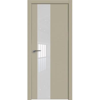 Дверь профиль дорс 5Е Шеллгрей - со стеклом (Товар № ZF209702)