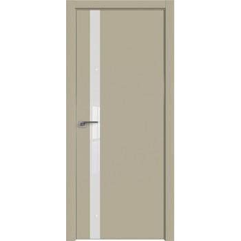 Дверь профиль дорс 6Е Шеллгрей - со стеклом (Товар № ZF209711)
