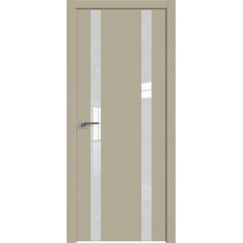 Дверь профиль дорс 9Е Шеллгрей - со стеклом (Товар № ZF209706)
