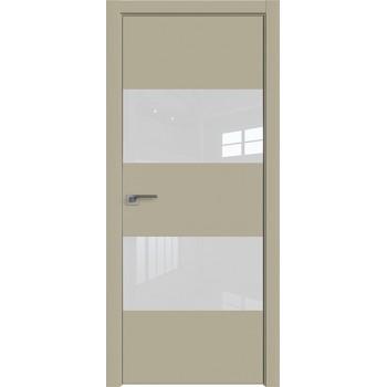 Дверь профиль дорс 10Е Шеллгрей - со стеклом (Товар № ZF209708)