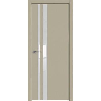 Дверь профиль дорс 16Е Шеллгрей - со стеклом (Товар № ZF209717)