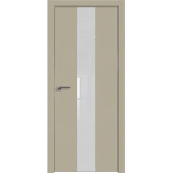 Дверь профиль дорс 25Е Шеллгрей - со стеклом (Товар № ZF209716)