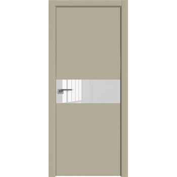 Дверь профиль дорс 4Е Шеллгрей - со стеклом (Товар № ZF209483)