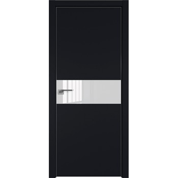 Дверь Профиль дорс 4Е Черный матовый - со стеклом (Товар № ZF209486)