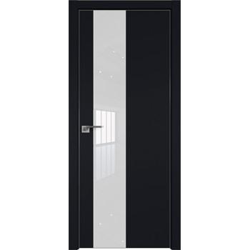 Дверь профиль дорс 5Е Черный матовый - со стеклом (Товар № ZF209571)