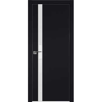 Дверь профиль дорс 6Е Черный матовый - со стеклом (Товар № ZF209574)