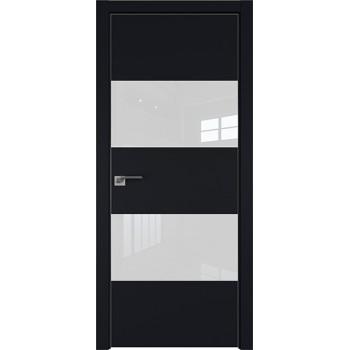 Дверь профиль дорс 10Е Черный матовый - со стеклом (Товар № ZF209575)