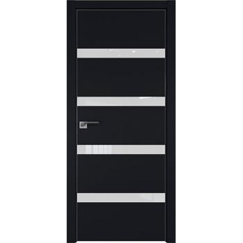 Дверь профиль дорс 26Е Черный матовый - со стеклом (Товар № ZF209577)