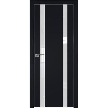 Дверь профиль дорс 9Е Черный матовый - со стеклом (Товар № ZF209581)