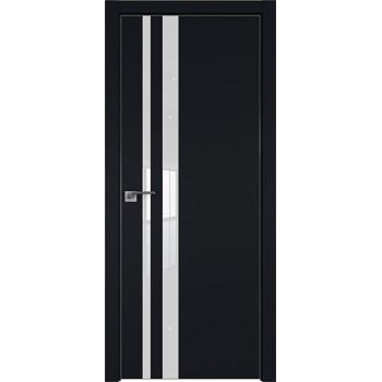 Дверь профиль дорс 16Е Черный матовый - со стеклом (Товар № ZF209580)