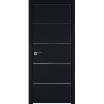 Дверь профиль дорс 7Е Черный матовый - со стеклом (Товар № ZF209582)