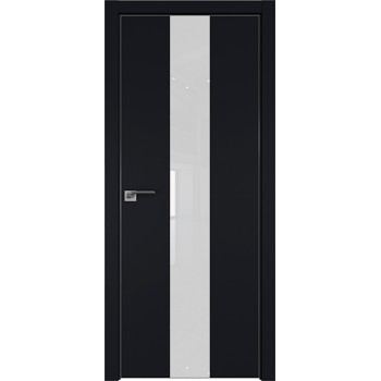 Дверь профиль дорс 25Е Черный матовый - со стеклом (Товар № ZF209584)
