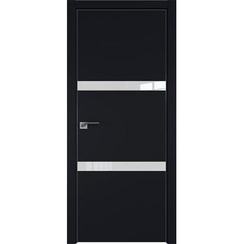 Дверь Профиль дорс 30Е Черный матовый - со стеклом (Товар № ZF209594)