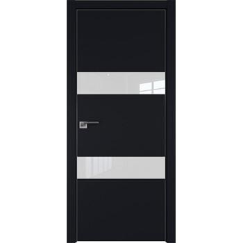 Дверь Профиль дорс 34Е Черный матовый - со стеклом (Товар № ZF209595)