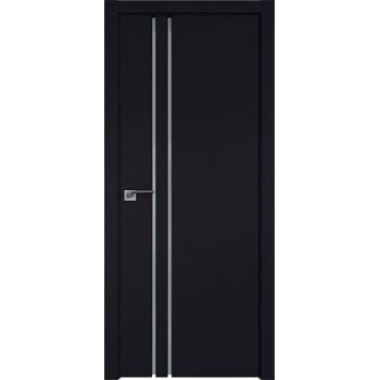 Дверь Профиль дорс 35Е Черный матовый - со стеклом (Товар № ZF209597)