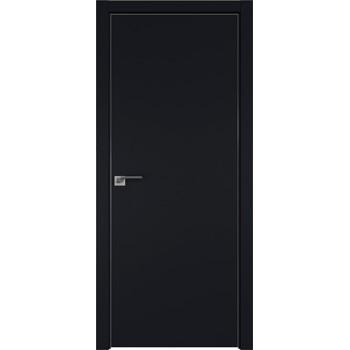 Дверь профиль дорс 1Е Черный матовый - глухая (Товар № ZF209462)