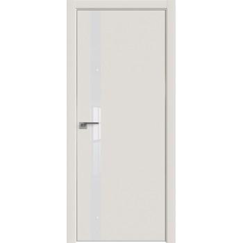 Дверь профиль дорс 6Е Дарк вайт - со стеклом (Товар № ZF209624)