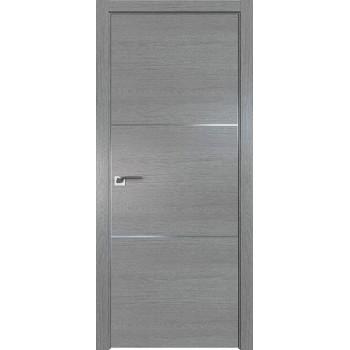 Дверь Профиль дорс 2ZN Грувд серый - глухая (Товар № ZF210286)