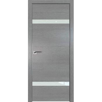 Дверь Профиль дорс 3ZN Грувд серый - со стеклом (Товар № ZF210290)