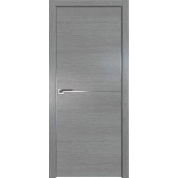 Дверь Профиль дорс 12ZN Грувд серый - глухая (Товар № ZF210330)