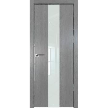 Дверь Профиль дорс 25ZN Грувд серый - со стеклом (Товар № ZF210332)