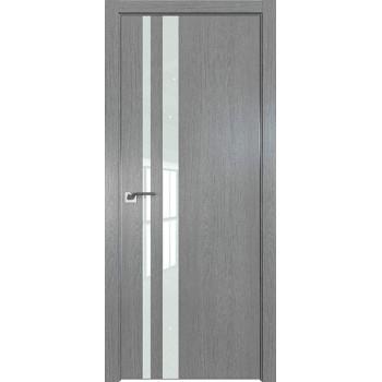 Дверь Профиль дорс 16ZN Грувд серый - со стеклом (Товар № ZF210333)