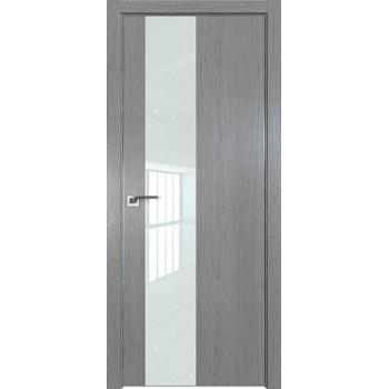 Дверь Профиль дорс 5ZN Грувд серый - со стеклом (Товар № ZF210337)