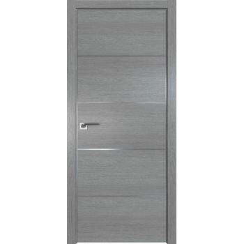 Дверь Профиль дорс 7ZN Грувд серый - глухая (Товар № ZF210342)