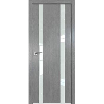 Дверь Профиль дорс 9ZN Грувд серый - со стеклом (Товар № ZF210344)