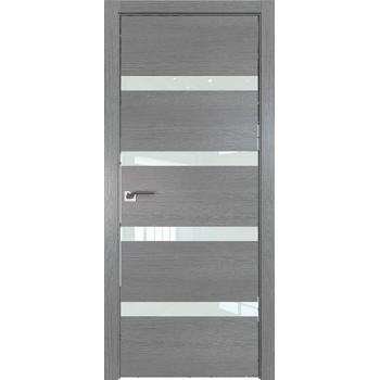 Дверь Профиль дорс 26ZN Грувд серый - со стеклом (Товар № ZF210343)