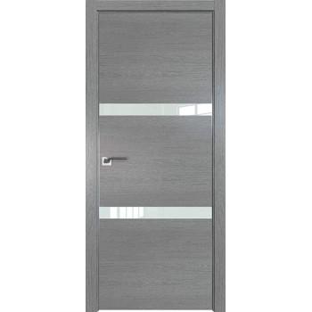 Дверь Профиль дорс 30ZN Грувд серый - со стеклом (Товар № ZF210345)
