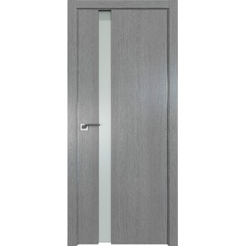 Дверь Профиль дорс 36ZN Грувд серый - со стеклом (Товар № ZF210354)