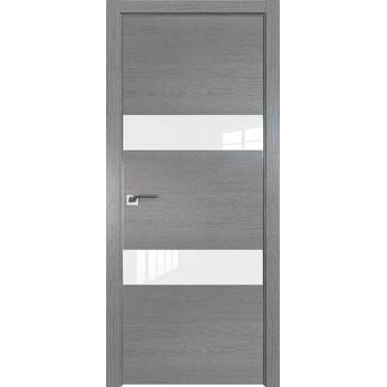 Дверь Профиль дорс 34ZN Грувд серый - со стеклом (Товар № ZF210355)