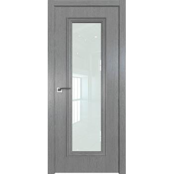 Дверь Профиль дорс 51ZN Грувд серый - со стеклом (Товар № ZF210339)