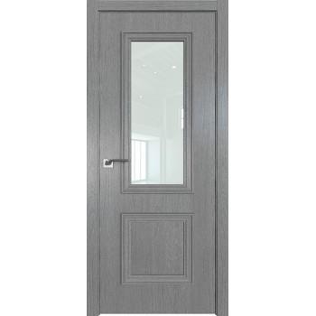 Дверь Профиль дорс 53ZN Грувд серый - со стеклом (Товар № ZF210349)