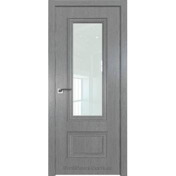 Дверь Профиль дорс 59ZN Грувд серый - со стеклом (Товар № ZF210352)