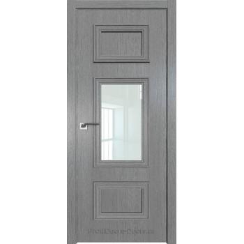 Дверь Профиль дорс 57ZN Грувд серый - со стеклом (Товар № ZF210362)
