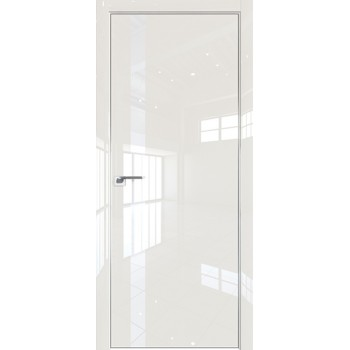 Дверь Профиль дорс 6LK Магнолия люкс - со стеклом (Товар № ZF209987)