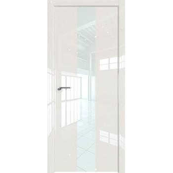 Дверь Профиль дорс 25LK Магнолия люкс - со стеклом (Товар № ZF210129)