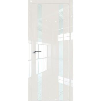 Дверь Профиль дорс 9LK Магнолия люкс - со стеклом (Товар № ZF210139)