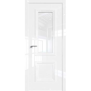 Дверь Профиль дорс 83LK Белый люкс - со стеклом (Товар № ZF209939)