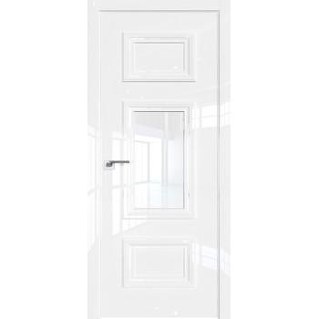Дверь Профиль дорс 87LK Белый люкс - со стеклом (Товар № ZF209942)