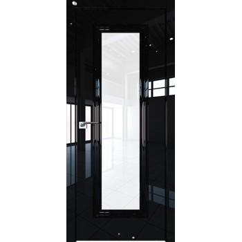 Дверь Профиль дорс 81LK Черный люкс - со стеклом (Товар № ZF210140)