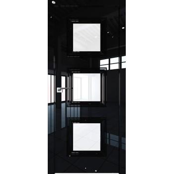 Дверь Профиль дорс 85LK Черный люкс - со стеклом (Товар № ZF210142)