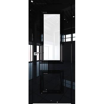 Дверь Профиль дорс 83LK Черный люкс - со стеклом (Товар № ZF210143)