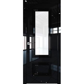 Дверь Профиль дорс 89LK Черный люкс - со стеклом (Товар № ZF210149)