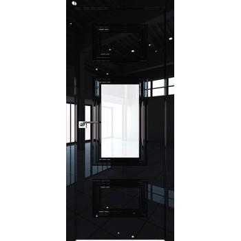 Дверь Профиль дорс 87LK Черный люкс - со стеклом (Товар № ZF210163)