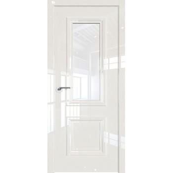 Дверь Профиль дорс 83LK Магнолия люкс - со стеклом (Товар № ZF210122)